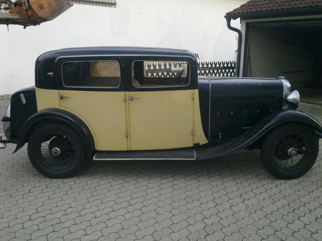 1929 Salmson Limo S4C