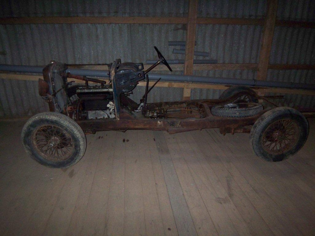 1929 Salmson S4 rolling chassis