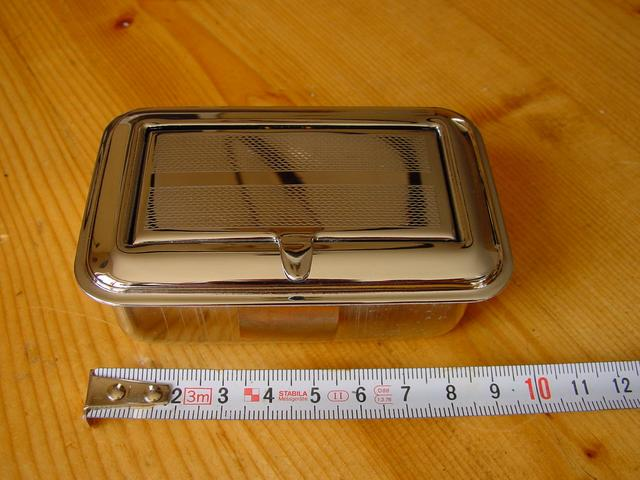 Ashtray chrome