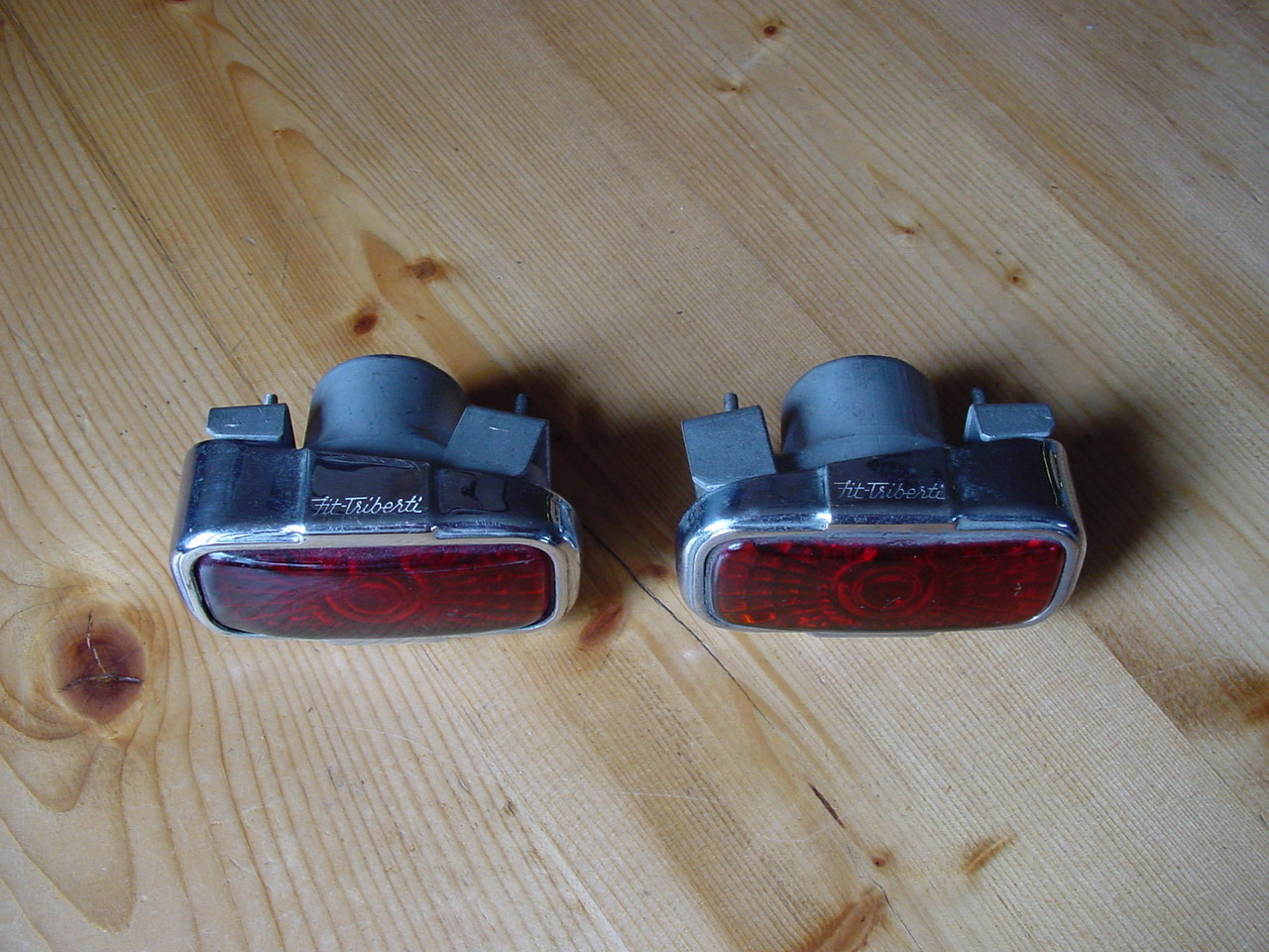Triberti taillights with glass lenses