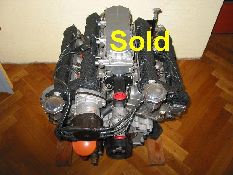 Ferrari 246 engine  gearbox complete