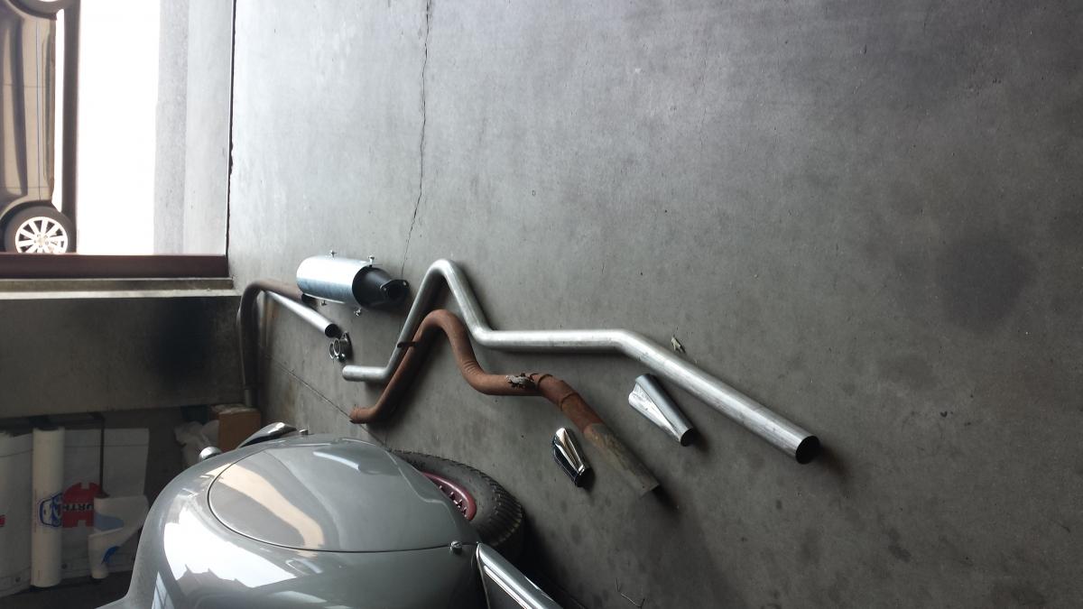 Exhaust complete Alfa Romeo 6C 2500 SS