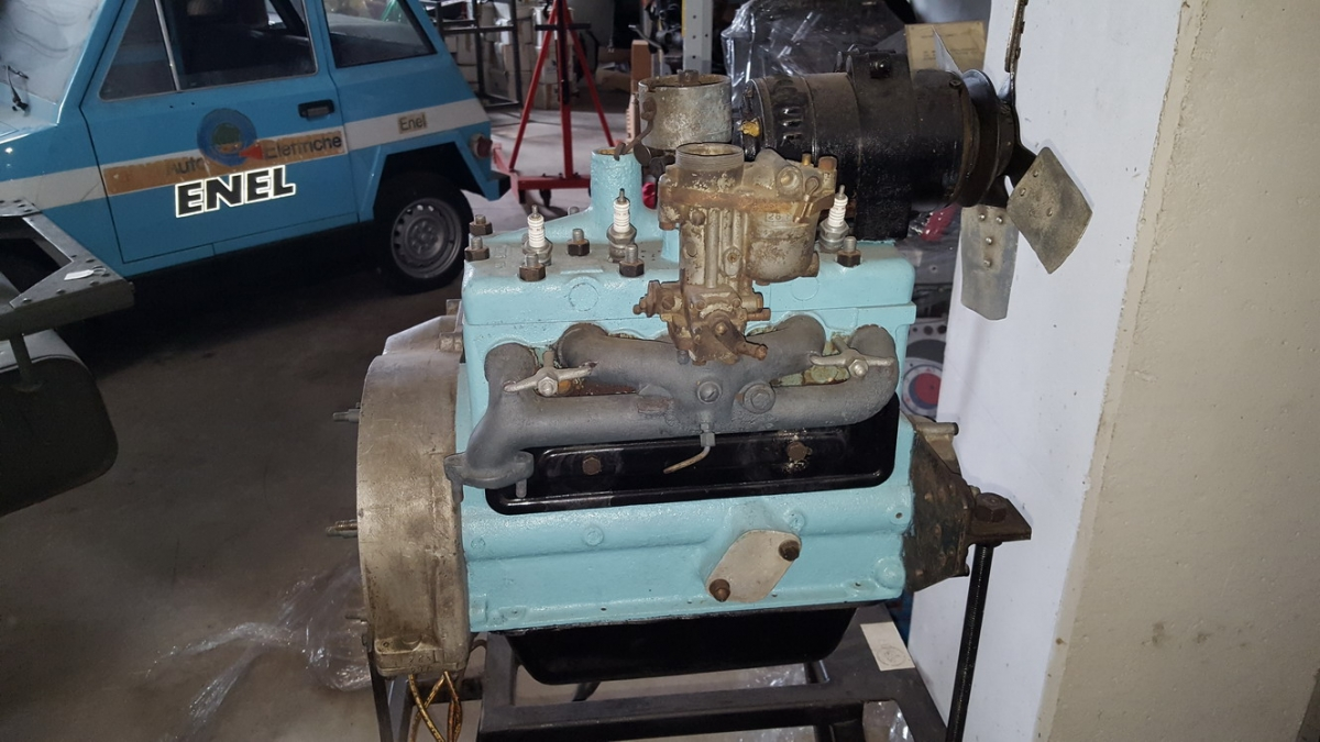 Fiat Balilla engine  108 S