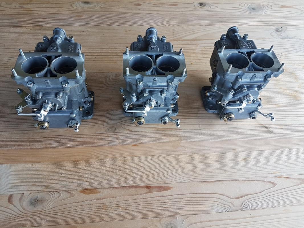 Weber 36 DCS Carburettor set Ferrari