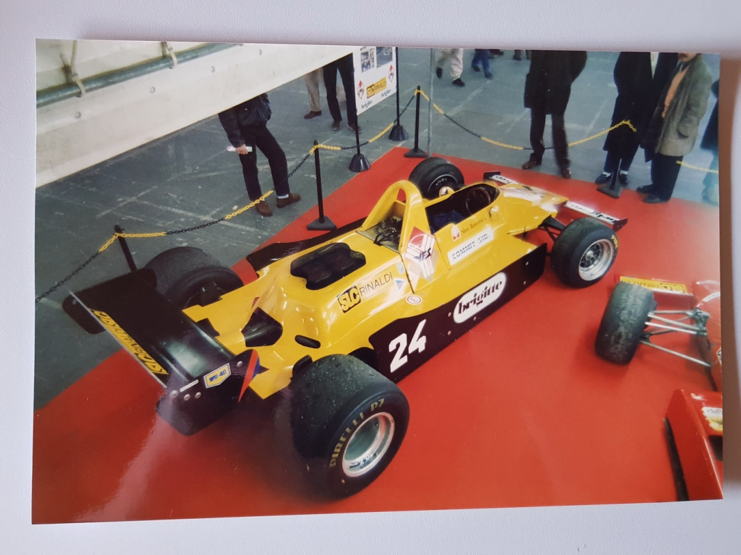 1979 Merzario F1 with 30 Ltr Alfa Romeo engine