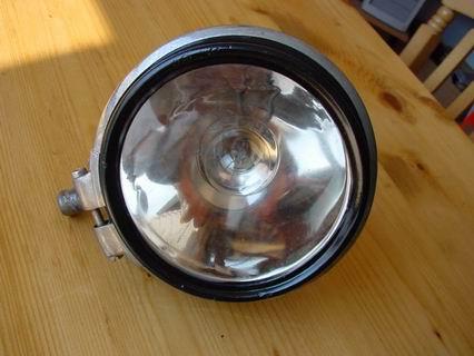 Bosch spotlight with mirror