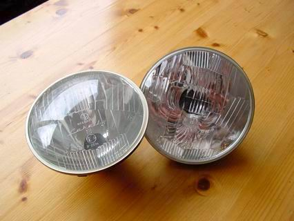Headlight Carello 07480700