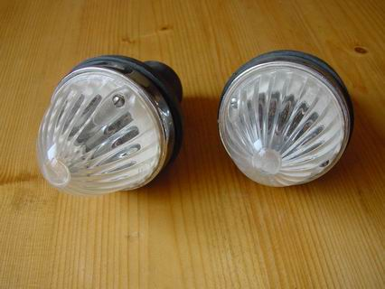 Turn signal lights front