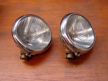 Bosch headlights with round rim 220 mm