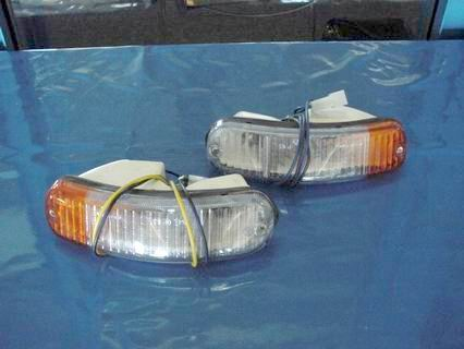 Turn signal lights Fiat 850 spyder