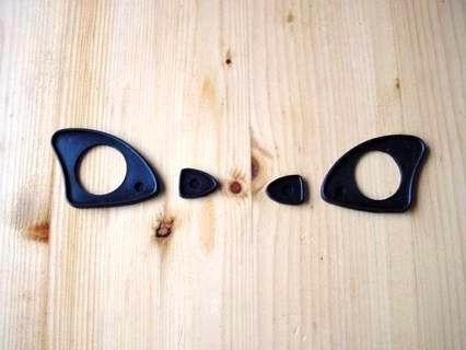 Door handle seals