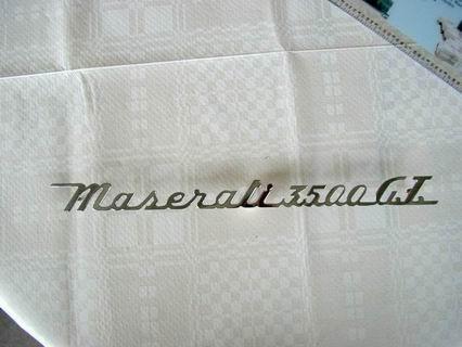 Script Maserati 3500GT
