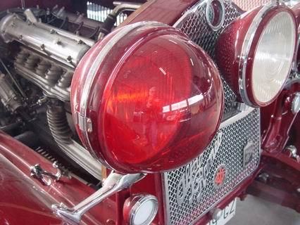 Protection headlight cap Alfa Romeo 6C 1750