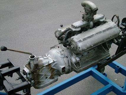 Ferrari 166 Engine  gearbox