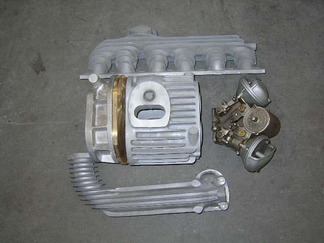 Super charger castings or fully machined manifold
