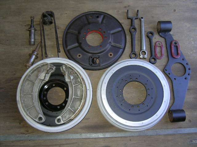 Brake drums and parts