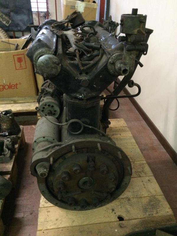 Alfa Romeo 6C 2500 S engine
