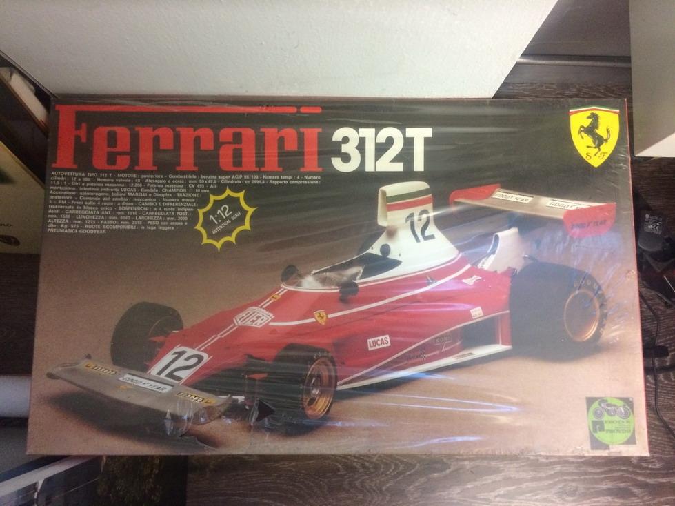 Protar 112 Ferrari 312T model car kit