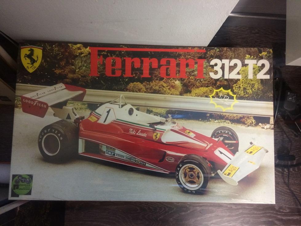 Protar 112 Ferrari 312T2 model car kit