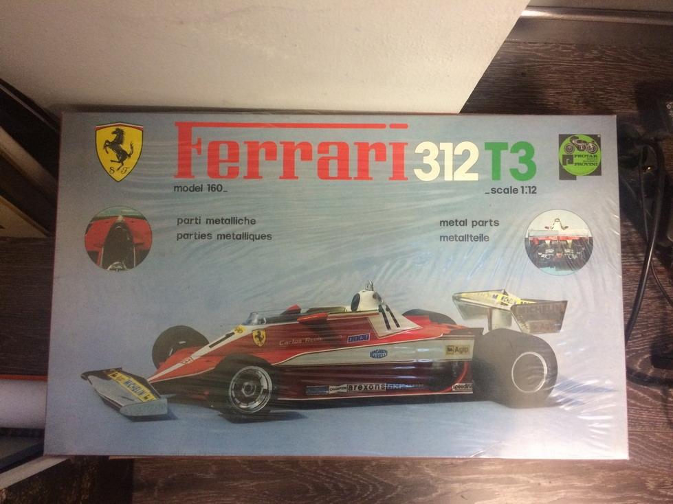 Protar 112 Ferrari 312T3 model car kit