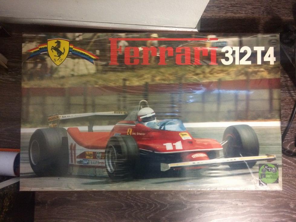 Protar 112 Ferrari 312T4 model car kit