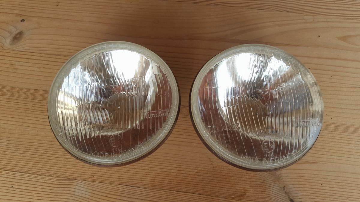 Marchal Tp 146 headlight set diameter 136 Nos