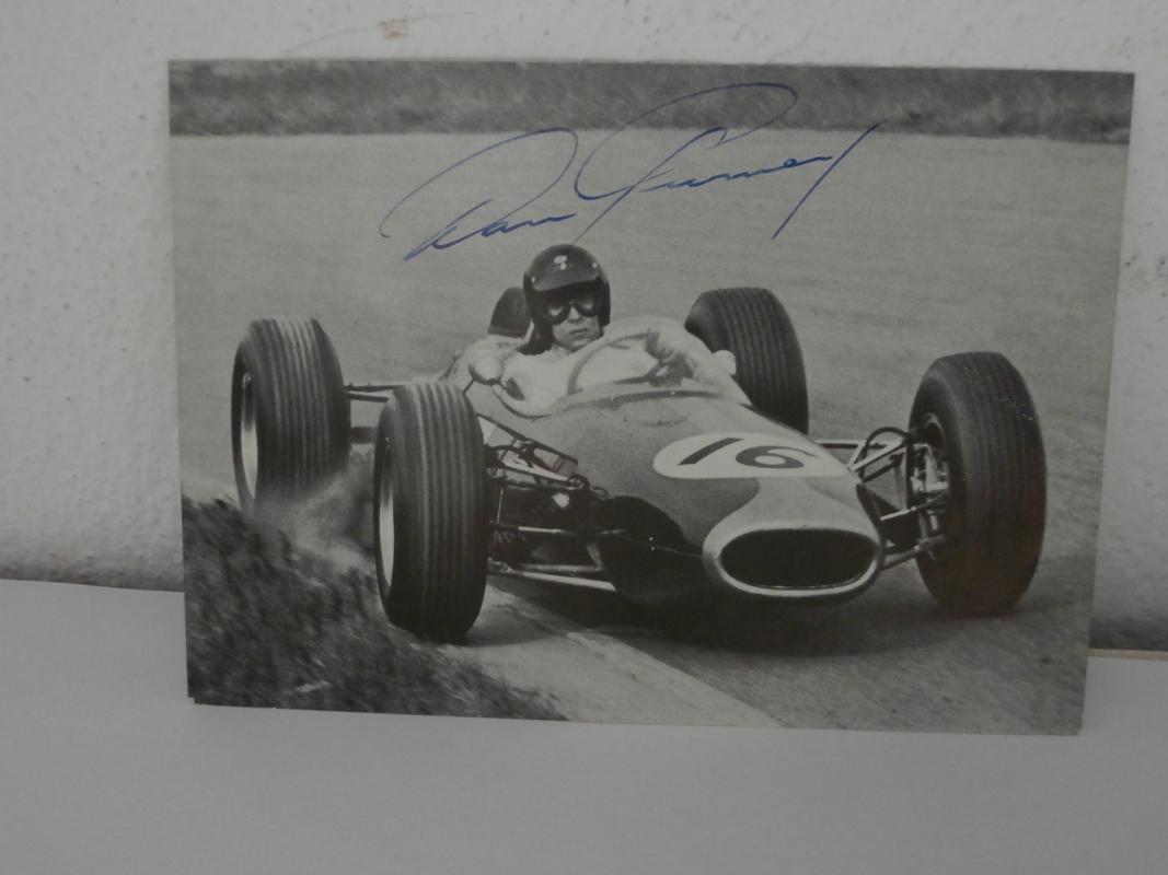 Dan Gurney original signature