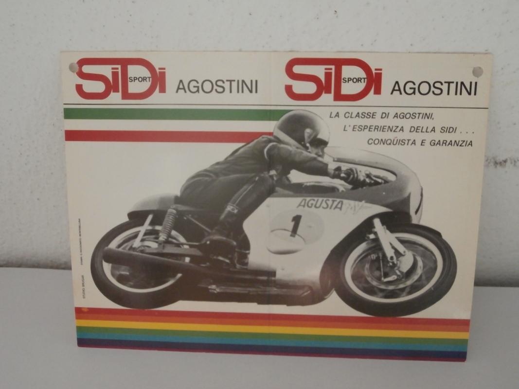 Giacomo Agostini original autograph